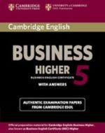 cambridge english business 5 - higher